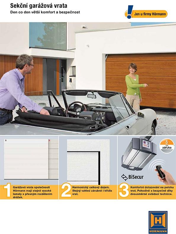 Výhody sekčních garážových vrat