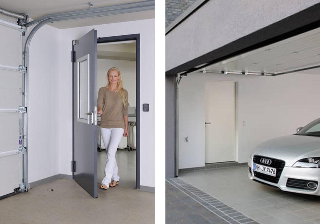 Multifunkční dveře H3D-3
