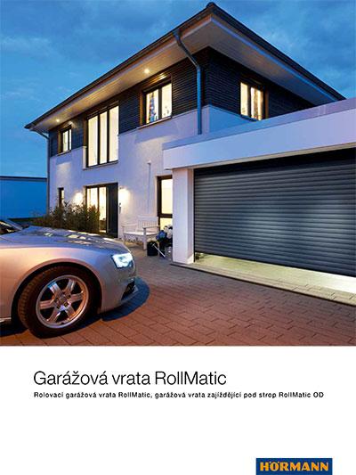 Rolovací garážová vrata RollMatic